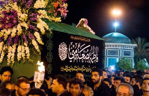 تشییع نمادین حضرت زهرا (س)؛ آری یا خیر!؟