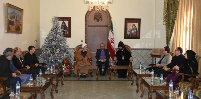 جمهوری اسلامی احترام زیادی برای پیروان ادیان الهی قائل است