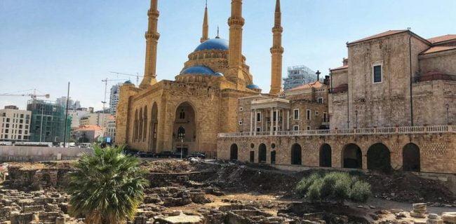 زندگی مسالمتآمیز پیروان ادیان مختلف در پایتخت لبنان