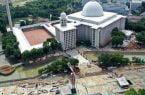 احداث تونل برادری بین مسجد و کلیسای جامع در اندونزی
