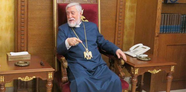 رهبر مسیحیان ارمنی لبنان: دین بخش جداییناپذیر انسان است