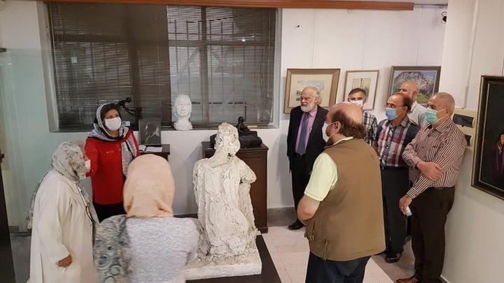 نمایشگاه نقاشی هاکوپ وارطانیان، ارمنی-ایرانی