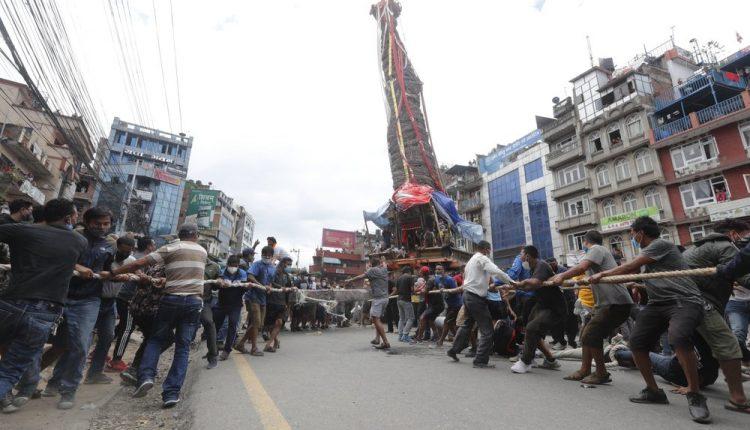 درگیری پلیس نپال با زائران خدای باران