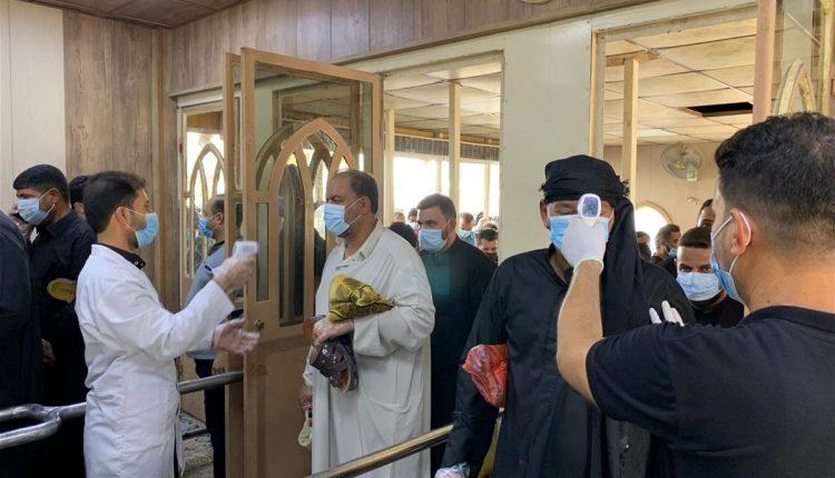 اقامه نماز جمعه در مسجد کوفه