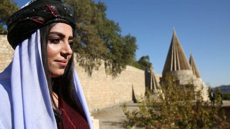 مراسم معارفه علی الیاس، رهبر جدید ایزدیها